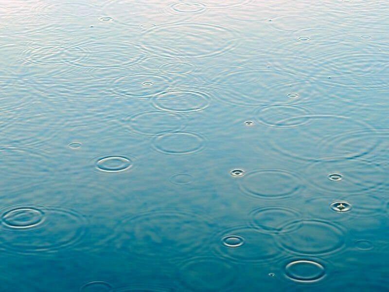 Foto de gotas de agua para el artículo sobre flexibilidad psicológica